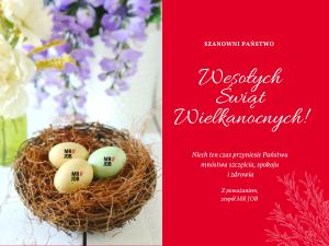 MRJOB Agencja pracy życzenia Wielkanocne
