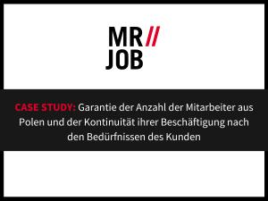 Case Study in MRJOB Zeitarbeitsfirma - Mitarbeiter aus Polen