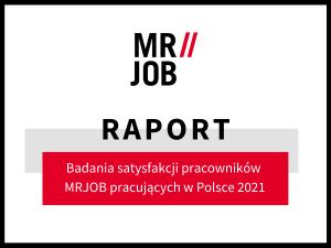 Ocena pracy w Polsce przez pracowników MRJOB z Polski i z Ukrainy